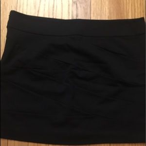 Express size 8 black skirt